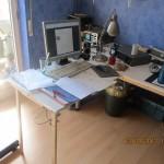 Schreibtischanbau